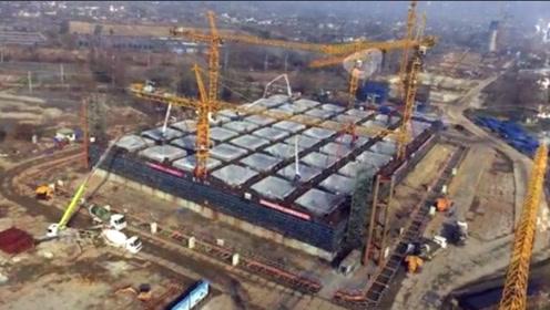 我国造世界第一沉井!体积堪比13艘航母,重量超186座埃菲尔铁塔