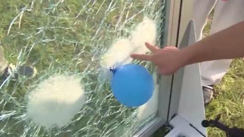中国小伙发明防爆玻璃!你怎么砸都砸不穿,普通炸弹都拿它没办法