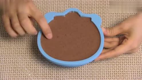 找寻童年的回忆、哆啦A梦巧克力布丁 、大吃货爱美食