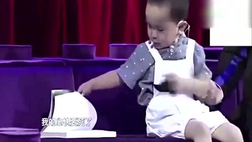 3岁音乐神童王恒屹扬言挑战杨坤,直接一开口全场都瞬间安静了