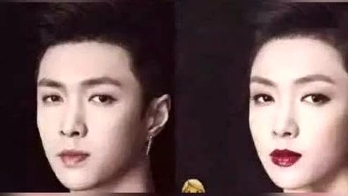 当男明星变成女明星后是什么样的,张艺兴太高冷,鹿晗撞脸邓紫棋