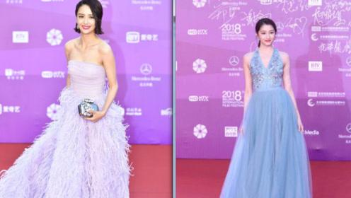 第八届北影节闭幕红毯:佟丽娅美出新高度关晓彤走甜美少女风