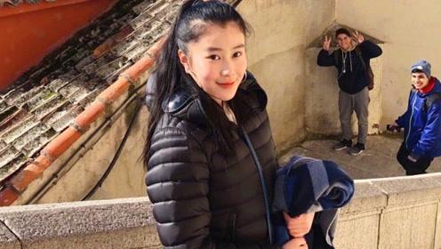 杨子15岁女儿考取哈佛 气质超好不输黄圣依