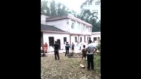 村民掉入沼气池 多人施救相继掉入池中致5人死亡