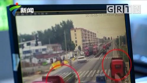 嚣张!24秒8辆车集体闯红灯 交警立马行动一锅端
