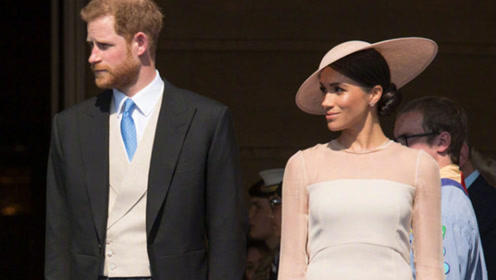 梅根王妃婚后皇室活动首秀 竟穿了件打折促销的连衣裙