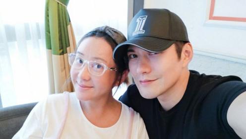 严屹宽妻子怀孕9月面容憔悴,网友:这才是女人怀孕最真实的样子