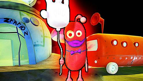 屌德斯解说 手套气球 一个手拿气球的诡异身影在巴士站游荡