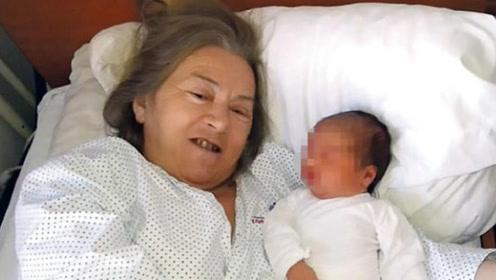 """50岁高龄产妇医院产子,当看到孩子""""父亲""""后,所有人都愣了!"""