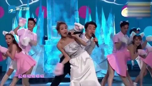 容祖儿、王祖蓝同台合唱《学猫叫》,可爱到爆炸