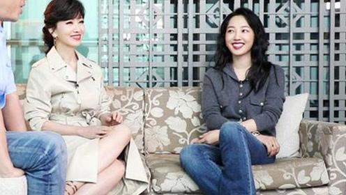 64岁赵雅芝和白百何一同出席采访,网友:差别真是太大了
