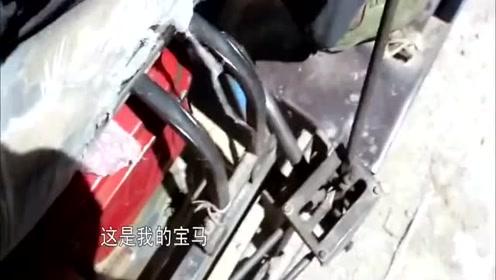 """变形计:刘健刚进村,农村爷爷开着""""宝马""""来接他!"""