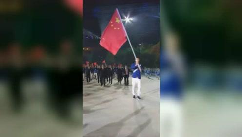 亚运会开幕式:中国代表队来了!