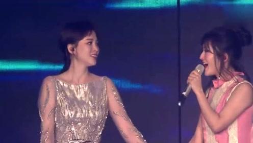 陈乔恩爆料谢娜双胞胎女儿性格:姐姐像妈妈 妹妹像爸爸