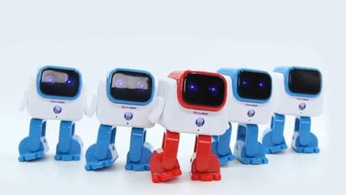 这舞蹈机器人好厉害呀!灵巧的小步伐,时髦的机器人!