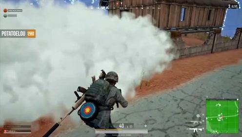 绝地求生 决赛圈烟雾弹这么用,吃鸡再也不是梦!