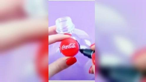 饮料的塑料瓶让你的手机镜头秒变放大镜