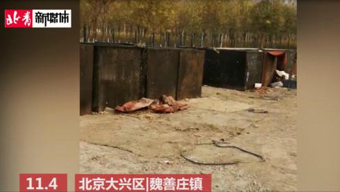 记者暗访:北京大兴惊现地沟油加工点 14个大铁箱全是泔水