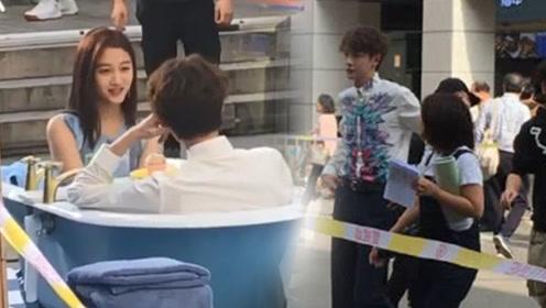 关晓彤和他坐浴缸中约会  鹿晗看到会怎样?