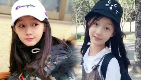 """赵薇""""女儿""""十岁了美得不可方物 网友:撞脸关晓彤了"""