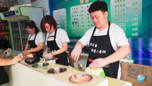 辽宁超级火爆小卷饼,一天至少卖出4000个,回头客踏破门槛