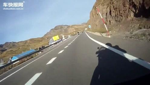 摩托牛人骑宝马跑山,把BMW R1200GS跑出了公路赛的感觉
