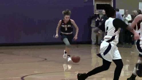 威廉的女孩都是这么强的嘛,打篮球不输男生