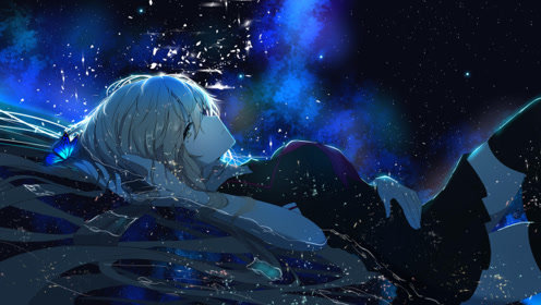 给无星光的夜空献上璀璨的光芒