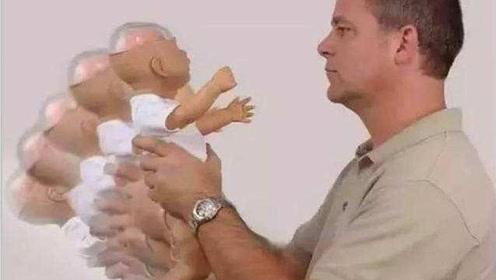 哄小宝宝睡觉时不个不经意的小动作可能会毁了孩子!