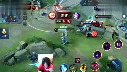张大仙被控在防御塔下,心脏都快吓出来了,真的受不了