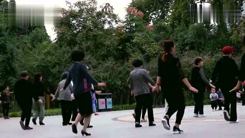现在的广场舞真是太优美了,动作简单,好想和她们一起跳!