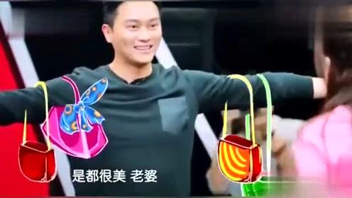 张智霖模仿老婆买包,简直就是袁咏仪附体,实在太搞笑了!