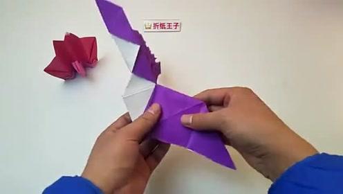 折纸王子前川淳孔雀简单版5详细视频教程