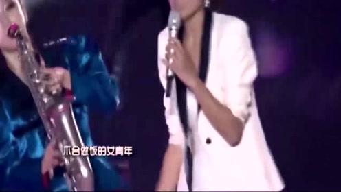 第一次听朱丹唱歌,原来这么好听,真是人美歌甜啊!