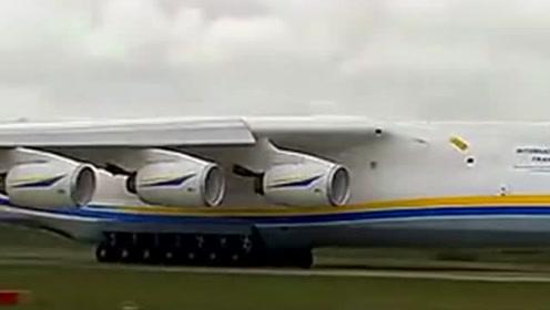 全球最大飞机安225飞行表演 力拔山兮气盖世