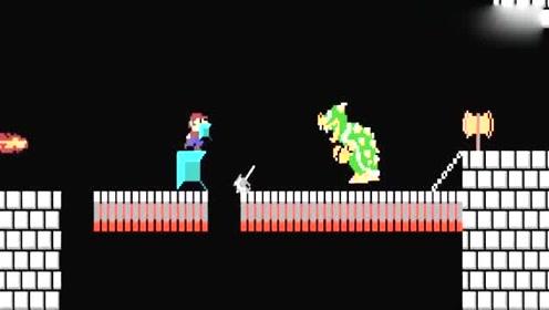 超级玛丽:当马里奥的世界与游戏我的世界结合!会有什么样的火花!