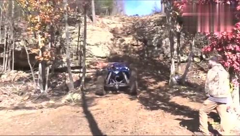 超级越野车,爬坡测试,国外的质量和技术还真是好