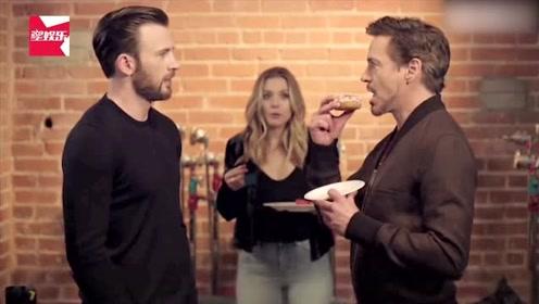 美队和钢铁侠竟为了一个甜甜圈反目?憋到最后实在忍不住笑场了