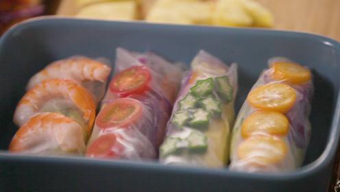 越南春卷——高颜值越南春卷,可以承包我整个夏天的正餐