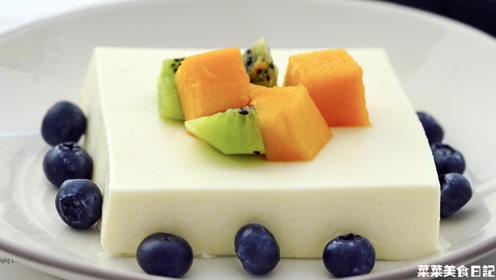 用豆腐做的甜点,清爽不腻还好吃
