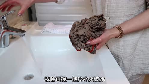 如何在家自己手洗羊绒等衣物