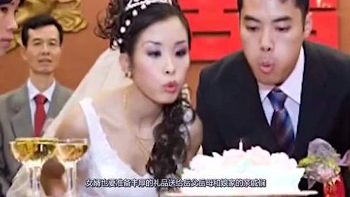 为什么新娘婚后三天一定要回娘家?2个原因,第一个令人难以启齿