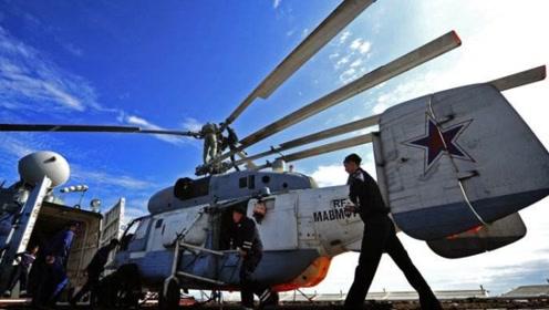 奇葩卡-27,没有尾桨,机身还短的直升飞机,还是第一次见
