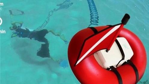 潜水不用背氧气瓶,带上这轻巧装备,能潜水45分钟