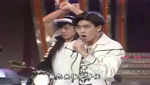 林志颖早期综艺秀,登台热歌劲舞,不愧是少女们心中的最佳男主!