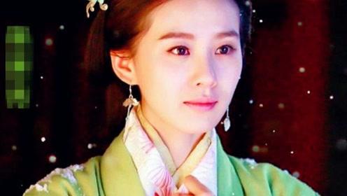 古装绿衣美人 张馨予像侠女刘亦菲像画中仙,她却最经典!
