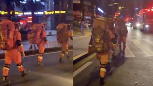 直击!宜宾地震,四川消防集结,紧急赶赴灾区救援