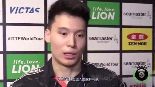 大惊喜!国乒新锐小将战胜日本世界冠军,对手不服气拿球泄愤