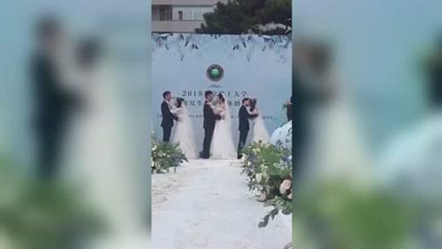 北京理工大学大型十五对毕业生集体婚礼 预警前方出现大片狗粮