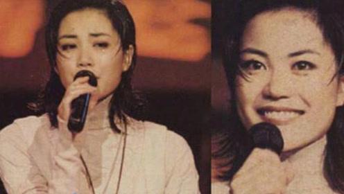 27年前王菲香港参加节目,容貌惊艳成全场焦点,笑容甜美不高冷